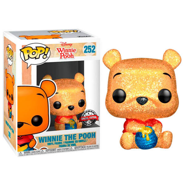 Funko POP Disney Winnie the Pooh Seated Pooh Glitter Exclusivo