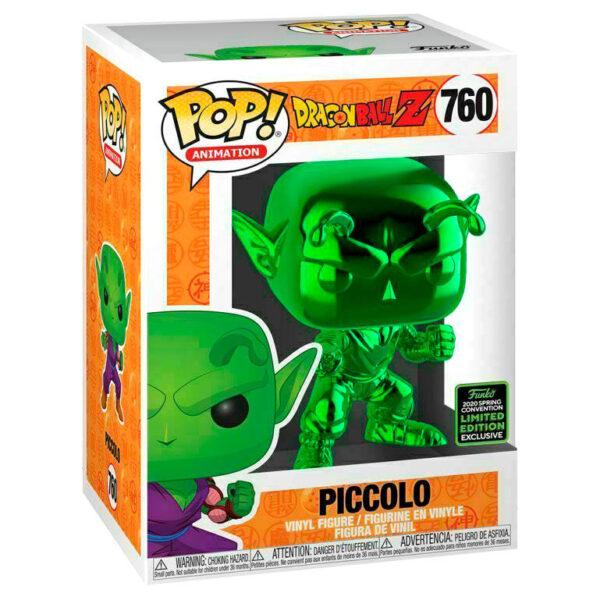 Funko POP Dragon Ball Z Piccolo Chrome Exclusivo