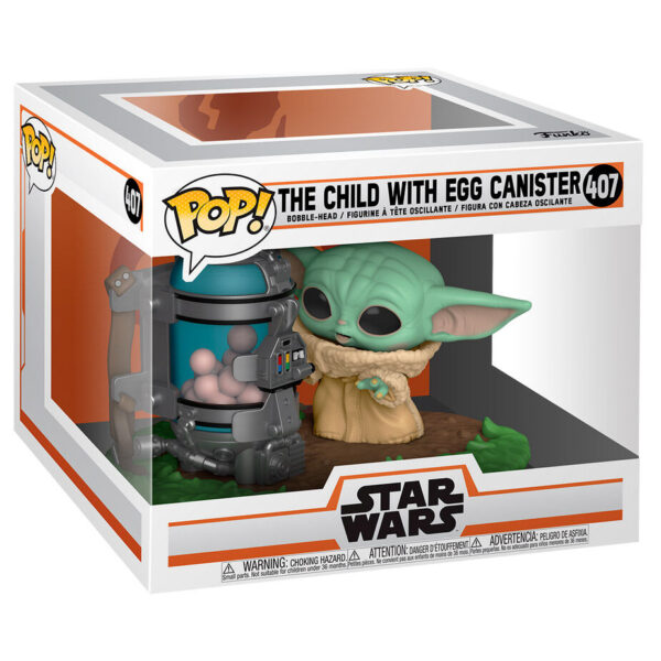 Funko POP Child with Egg Canister – Star Wars: The Mandalorian