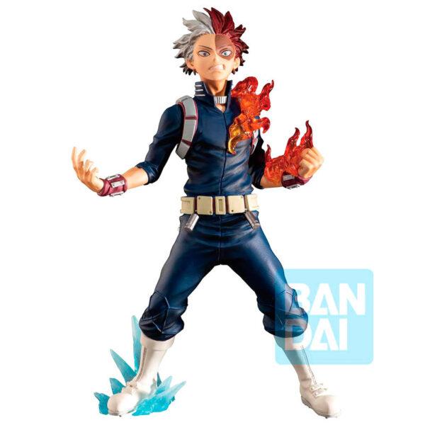 Figura Shoto Todoroki Next Generations feat. Smash Rising My Hero Academia 18cm