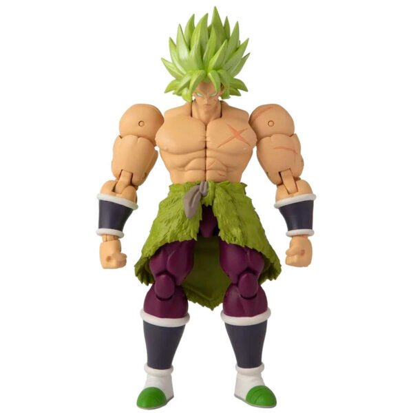 Figura deluxe Super Saiyan Broly Dragon Ball Super
