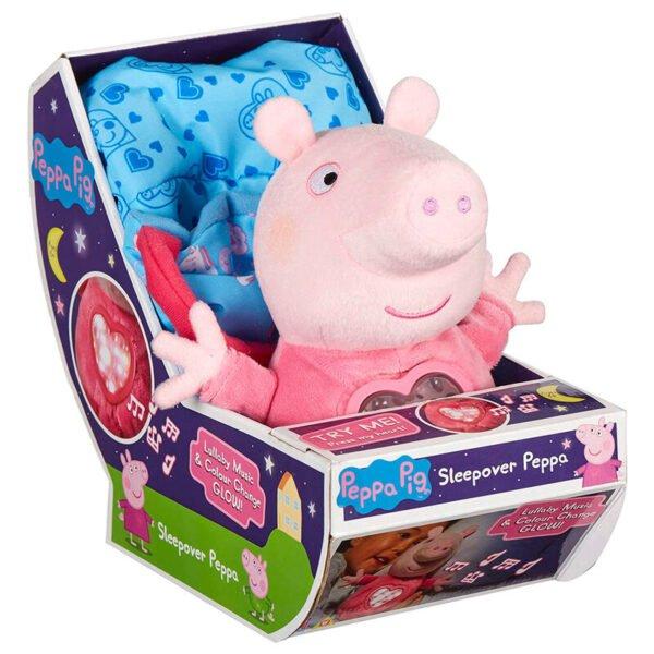 Peluche Fiesta Pijamas Peppa Pig sonido 18cm