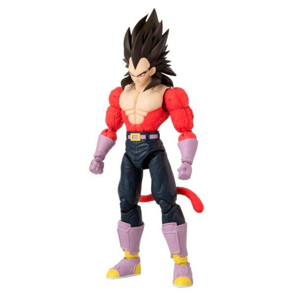 Figura deluxe Super Saiyan 4 Vegeta Dragon Ball Super
