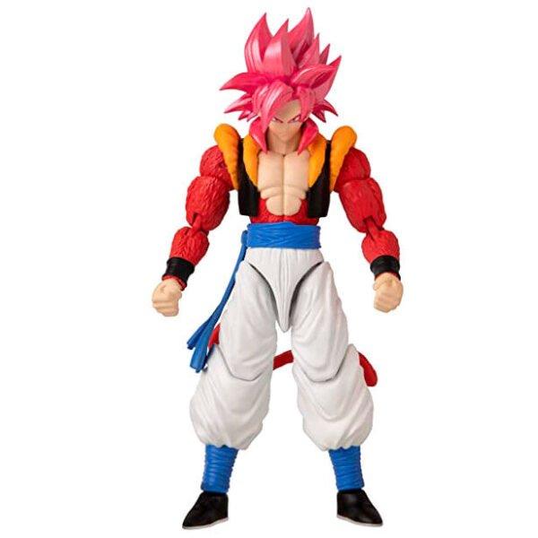 Figura deluxe Super Saiyan 4 Gogeta Dragon Ball Super
