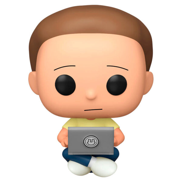 Funko POP Rick and Morty - Morty with Laptop Exclusivo