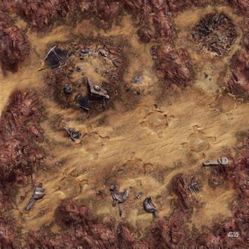 Depósito de chatarra del desierto