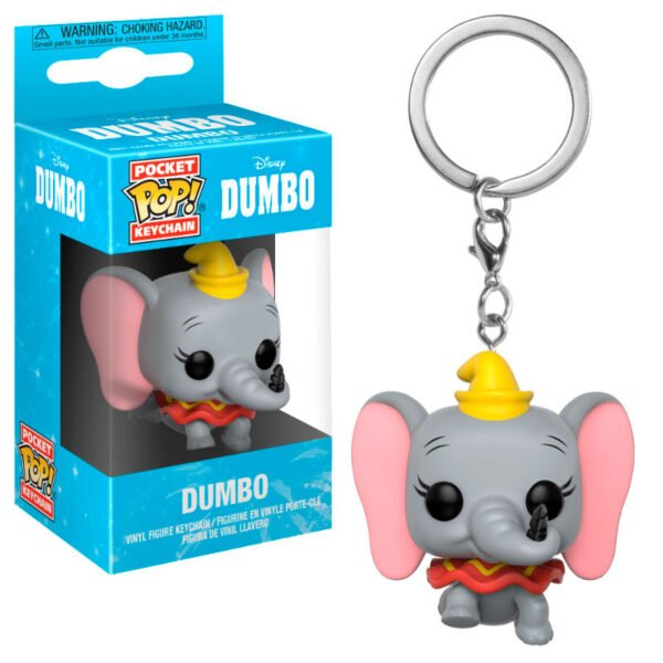 Llavero Pocket POP Disney Dumbo