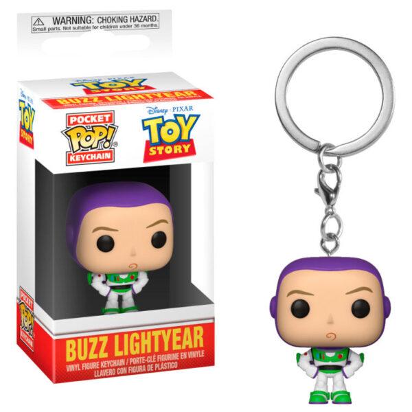 Llavero Pocket POP Disney Pixar Toy Story Buzz