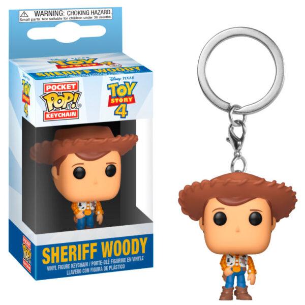 Llavero Pocket POP Disney Toy Story 4 Woody