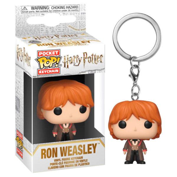 Llavero Pocket POP Harry Potter Ron Weasley Yule Ball