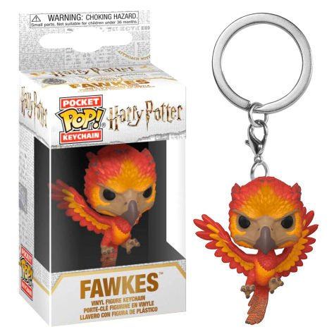 Llavero Pocket POP Harry Potter Fawkes