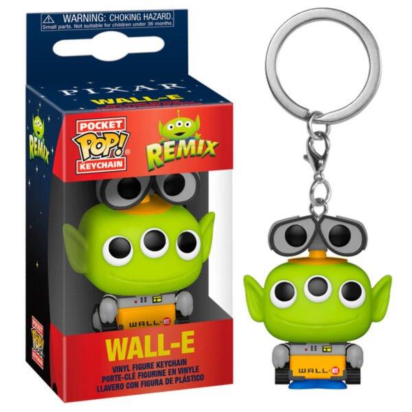 Llavero Pocket POP Disney Pixar Alien Remix Wall-E
