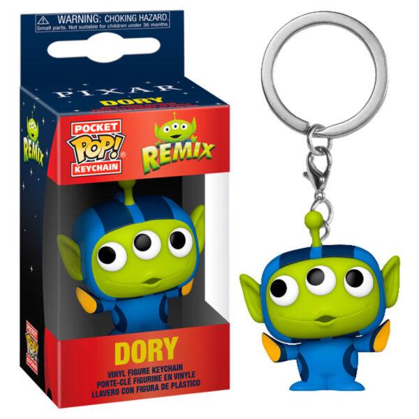 Llavero Pocket POP Disney Pixar Alien Remix Dory