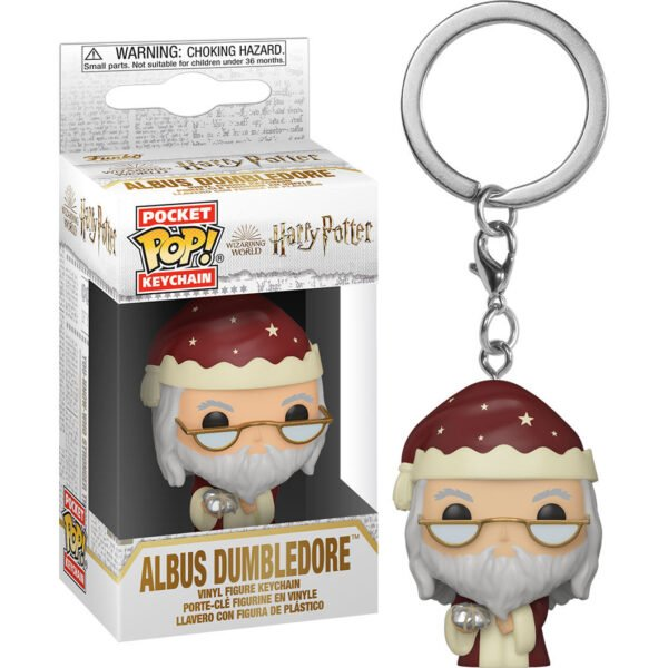 Llavero Pocket Harry Potter Holiday Dumbledore