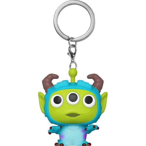 Llavero Pocket POP Disney Pixar Alien Remix Sulley