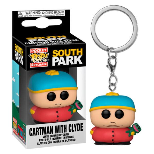 Llavero Pocket POP South Park Cartman with Clyde