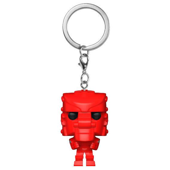 Llavero Pocket POP Mattel Rock Em Sock Em Robot Red