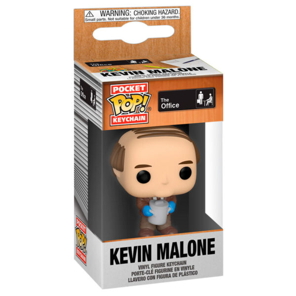 Llavero Pocket POP The Office Kevin with Chili