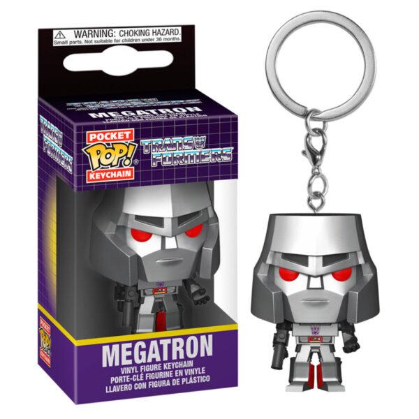 Llavero Pocket POP Transformers Megatron
