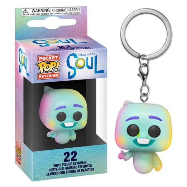 Llavero Pocket POP Disney Pixar Soul