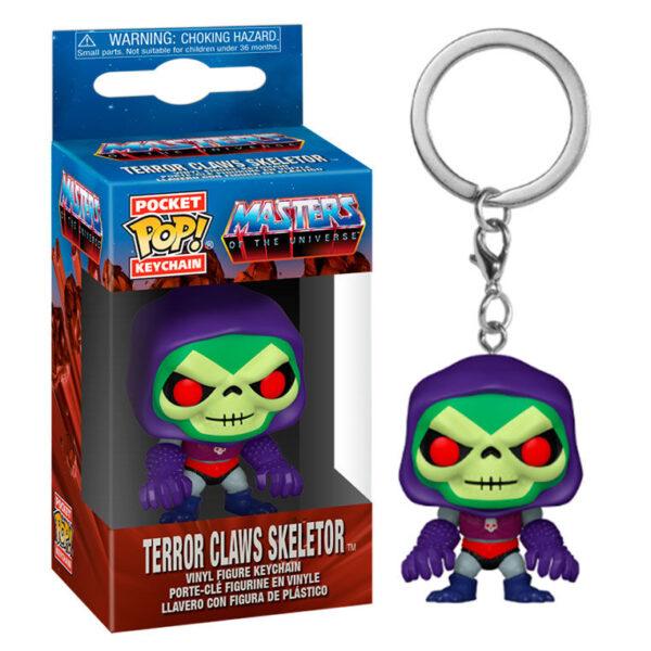 Llavero Pocket POP Masters of the Universe Skeletor with Terror Claws