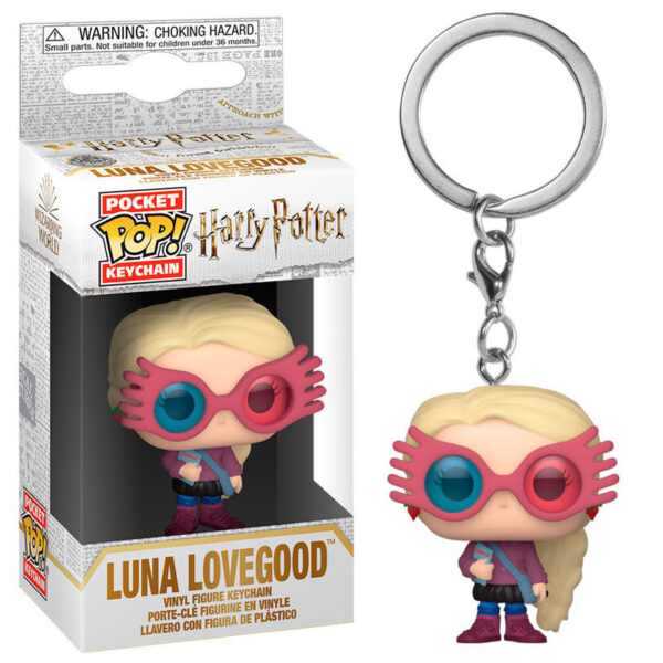 Llavero Pocket POP Harry Potter Luna Lovegood
