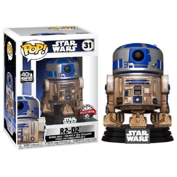 Funko POP Star Wars Dagobah R2-D2 Exclusivo