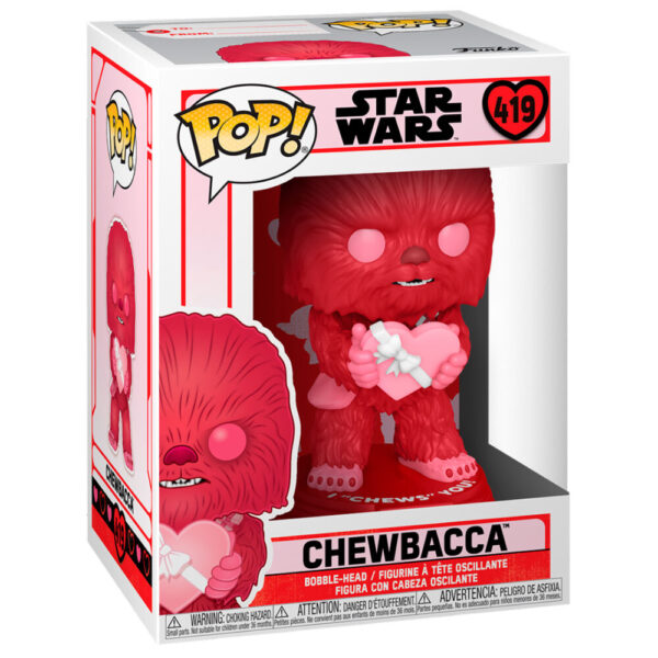 Funko POP Star Wars Valentines Cupid Chewbacca