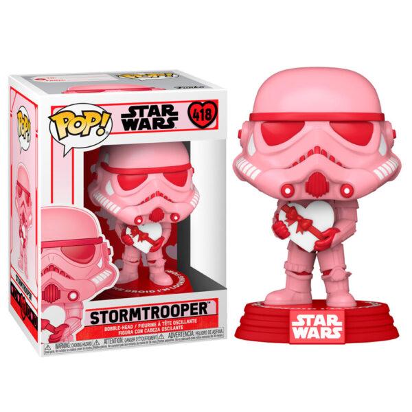 Funko POP Star Wars Valentines Stormtrooper with Heart