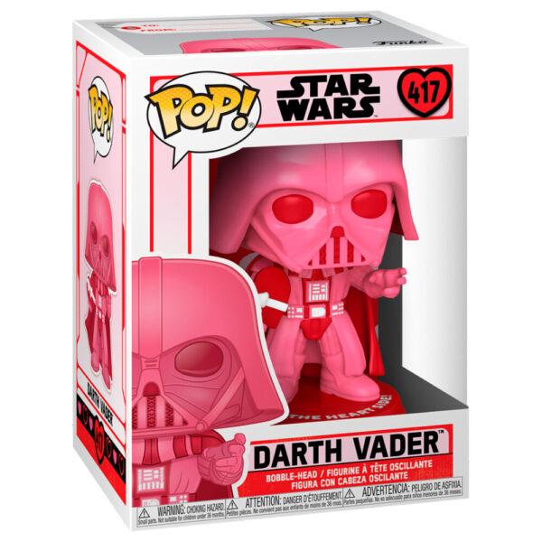 Funko POP Star Wars Valentines Vader with Heart