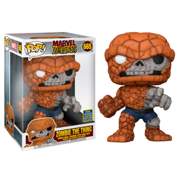 Funko POP Marvel Zombies The Thing Exclusivo 25cm