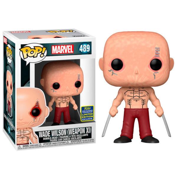 Funko POP Marvel X-Men Deadpool Wade Wison Exclusivo
