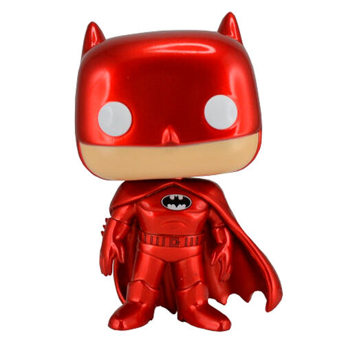Funko POP DC Comics Batman Red Metallic Exclusivo