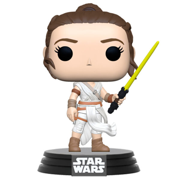 Funko POP Star Wars The Rise of Skywalker Rey with Yellow Saber