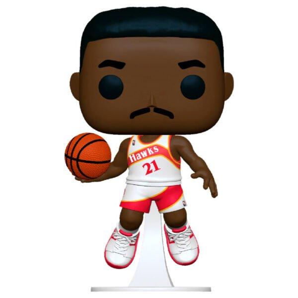 Funko POP NBA Legends Dominique Wilkins Hawks Home