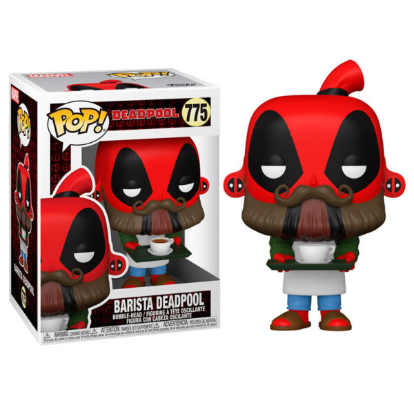 Funko POP Marvel Deadpool 30th Coffee Barista