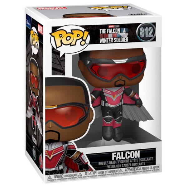 Funko POP Falcon en postura de vuelo - The Falcon and the Winter Soldier