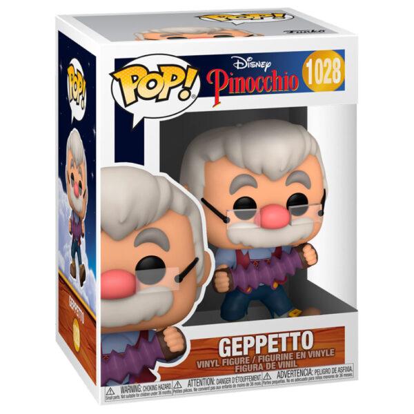 Funko POP Disney Pinocho Geppetto with Accordion