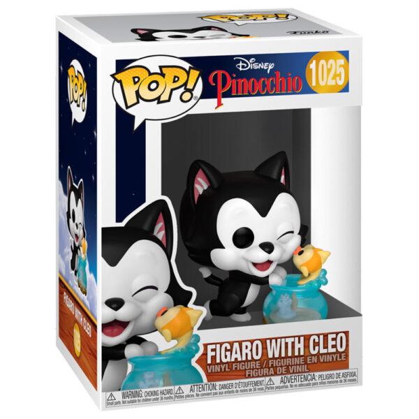 Funko POP Disney Pinocho Figaro Kissing Cleo