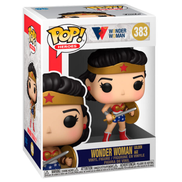 Funko POP WW80th Wonder Woman Golden Age