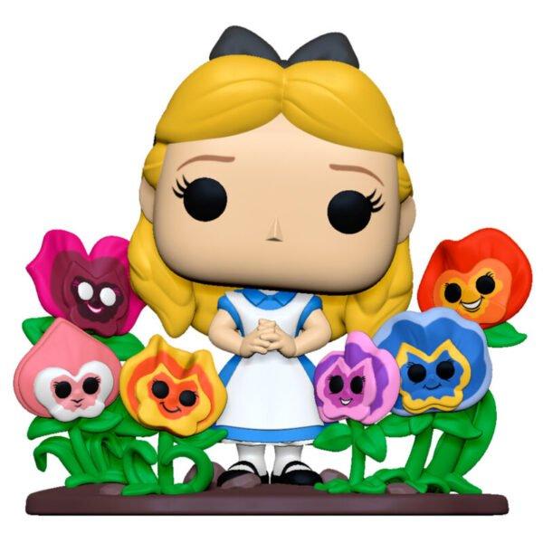 Funko POP Disney Alicia en el Pais de las Maravillas 70th Alice with Flowers