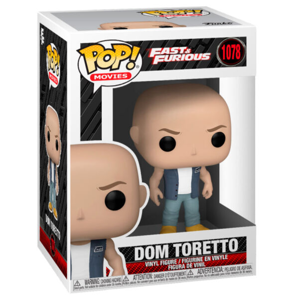 Funko POP The Fast and The Furious 9 Dominic