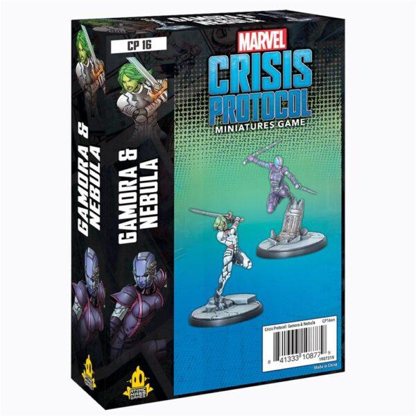 Crisis Protocol Gamora and Nebula EN