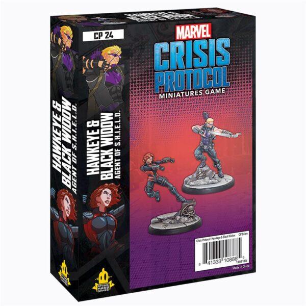 Crisis Protocol: Hawkeye and Black Widow (EN)