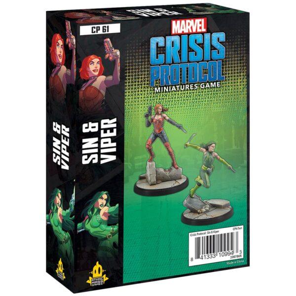 Crisis Protocol: Sin & Viper (EN)