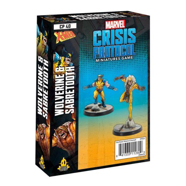 Crisis Protocol: Wolverine & Sabretooth (EN)
