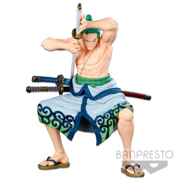 The Roronoa Zoro Original Super Master Star Piece Banpresto World Colosseum 3 One Piece 22cm