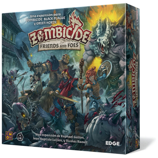 Zombicide: Friends and Foes – Expansión