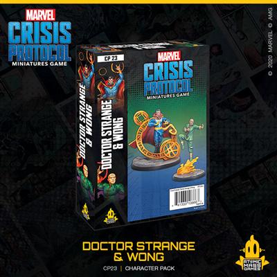Crisis Protocol: Dr. Strange and Wong (EN)