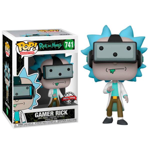 Funko POP Rick and Morty Gamer Rick Exclusivo